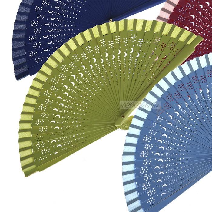 Abanico calado de colores for Abanico de colores