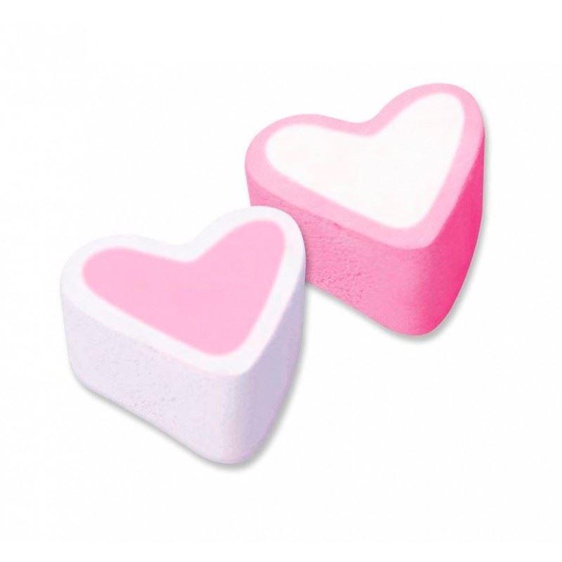 corazones de nubes rosas 125 u