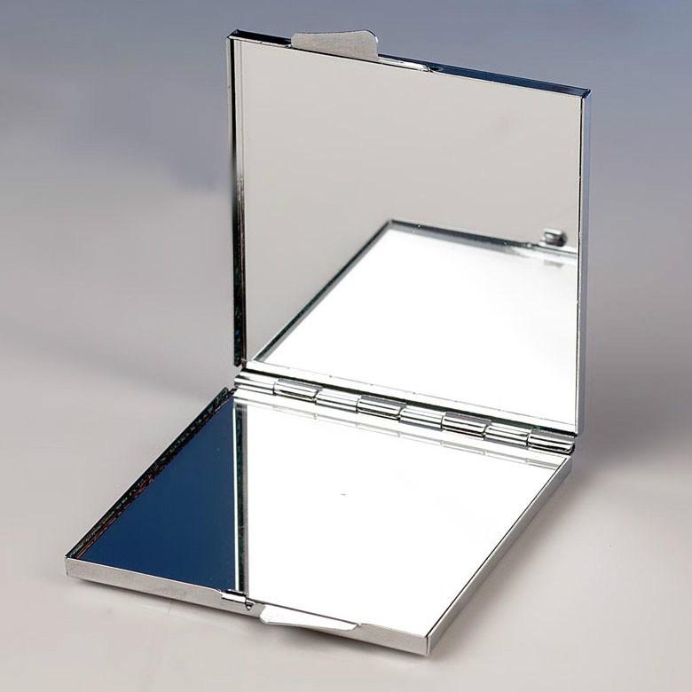Espejo met lico con foto de boda for Espejos con marco metalico