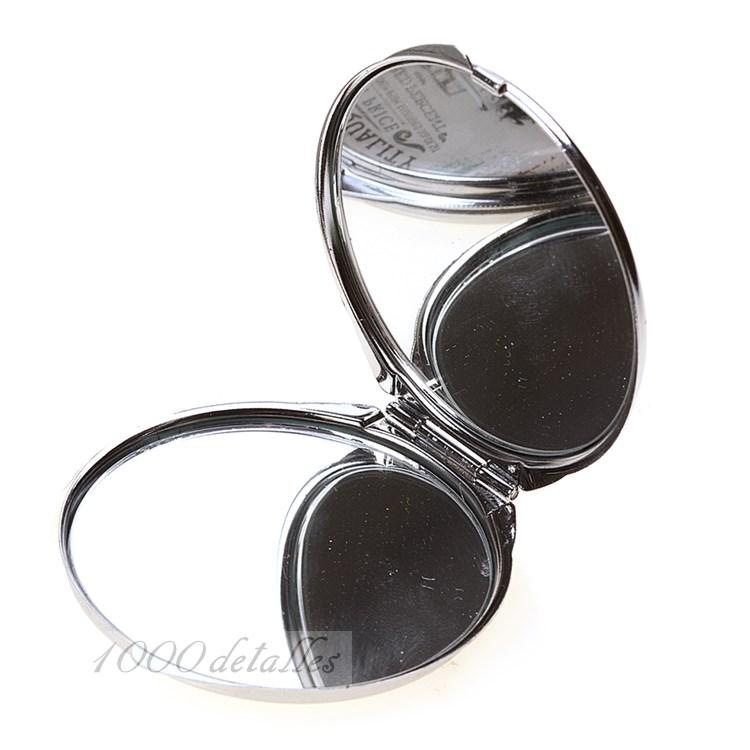 Espejo redondo de aluminio moda - Aluminio espejo ...